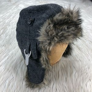 American Eagle Outfitters Herringbone Trapper Hat